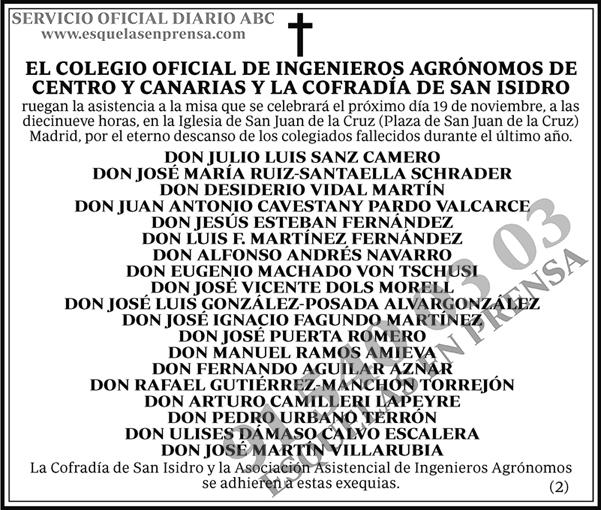 Colegio Oficial Ingenieros Agrónomos